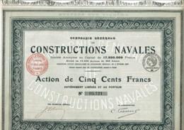 75-CONSTRUCTIONS NAVALES. CIE GLE DE ... - Other