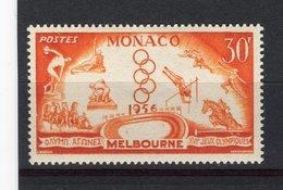 MONACO - Y&T N° 443* - MH - Jeux Olympiques De Melbourne - Unused Stamps