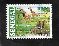 TIMBRE OBLITERE DU SENEGAL DE 2015 N° MICHEL 2224 - Senegal (1960-...)