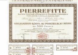 75-PIERREFITTE. STE GLE D'ENGRAIS ET PRODUITS CHIMIQUES. - Other
