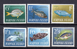 1962 -  NORFOLK ISLAND -  Mi. Nr. 45/50 - NH - (AS2302.50) - Norfolk Eiland