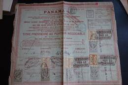 Emprunt PANAMA DE 1889 - Other