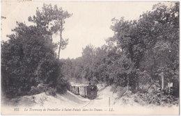 17. Le Tramway De PONTAILLAC à SAINT-PALAIS Dans Les Dunes. 235 - Saint-Palais-sur-Mer