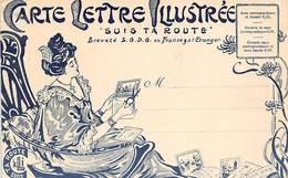 Thème: Carte Postale:       Carte Lettre Illustrée . Suis Ta Route.  Montmorillon    86   (Voir Scan) - Spectacle