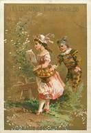 CHROMOS - A LA TENTATION RUE DE RIVILI 28 - CHARMANTS COSTUMES ENFANTS - Old Paper