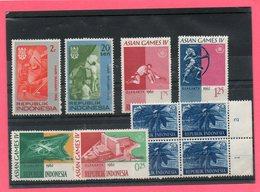 10 Valeurs De République Indonésie . - Stamps
