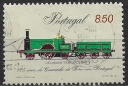 Portugal – 1981 Trains 8.50 Used Stamp - 1910-... République