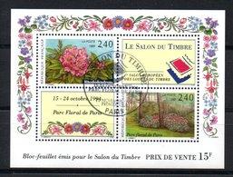 D84 France Oblitéré Bloc N° 15. A Saisir !!! - Unused Stamps
