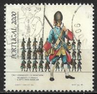 Portugal – 1985 Military Uniforms 20.00 Used Stamp - 1910-... République