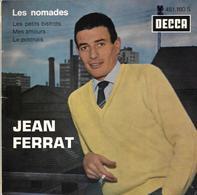 """EP 45 RPM (7"""") Jean Ferrat   """"  Les Nomades  """" - Vinyl Records"""