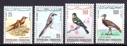 1965 -  TUNISIA -  Mi. Nr. 639/642 - NH - (AS2302.50) - Norfolk Eiland