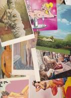 Lot 2392 De 10 CPM Nu Nude Féminin Pin Up Déshabillé érotisme Art Déstockage Pour Revendeurs Ou Collectionneurs - Postales