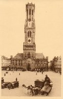 Grand Place   Charette A Chiens... - Brugge