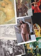 Lot 2394 De 10 CPM Nu Nude Féminin Pin Up Déshabillé érotisme Art Déstockage Pour Revendeurs Ou Collectionneurs - Postales