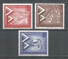 Germany Berlin 1957 Year Mint Stamps MNH(**) Set Mi.# 160-62 - [5] Berlino
