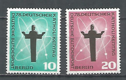 Germany Berlin 1958 Year Mint Stamps MNH(**) Set Mi.# 179-80 - [5] Berlino