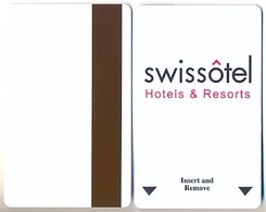 Swissôtel Hotels, Used Magnetic Hotel Room Key Card # Swissotel-1 - Cartes D'hotel