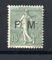 D84 France Franchise Militaire N° 3 **. A Saisir !!! - Militärpostmarken