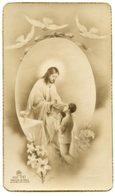 Ghilarza (Oristano) - Santino Antico RICORDO PRIMA COMUNIONE Di MARIO MELONI 20 6 1946 - OTTIMO P42- - Religione & Esoterismo
