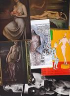 Lot 2397 De 10 CPM Nu Nude Féminin Pin Up Déshabillé érotisme Art Déstockage Pour Revendeurs Ou Collectionneurs - Postales