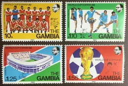 Gambia 1982 World Cup MNH - Gambia (1965-...)