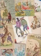 Lot 2402 De 10 CPA Lapin Bunny Déstockage Pour Revendeurs Ou Collectionneurs - Postales