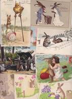 Lot 2405 De 10 CPA Lapin Bunny Déstockage Pour Revendeurs Ou Collectionneurs - Postales