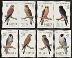 1975 Poland Birds Of Prey Set (** / MNH / UMM) - Aigles & Rapaces Diurnes
