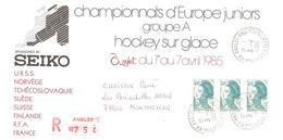 1985 Championnats D'Europe Juniors De Hockey Sur Glace: Anglet (France) Recommandée - Hockey (sur Glace)