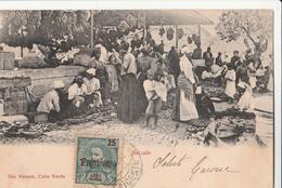 Cartolina - Postcard /   Viaggiata - Sent /  Capo Verde, Mercato. - Cabo Verde