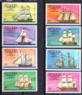 1976 -  ST. LUCIA -  Mi. Nr. 372/379 - NH - (AS2302.50) - St.Lucie (1979-...)