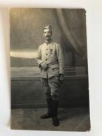 Foto Ak Soldat Militair Francais Uniform Croix De Guerre - Guerre 1914-18