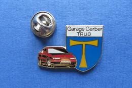 Pin's,AUTO,OPEL CALIBRA, AUTOGARAGE GERBER,TRUB,SUISSE,limitée - Opel
