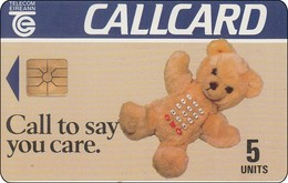 Irland Chip Phonecard  Teddy Bär - Ierland