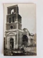 """Foto Ak """"remains Church Rheims"""" Zerschossene Kirche Ruins - Guerre 1914-18"""