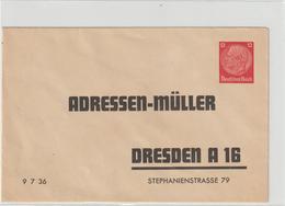 "Privatganzsache: ""Adressen-Müller"" - Germany"