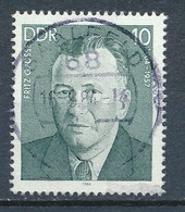 DDR Mi. 2850 Gest. Arbeiterbewegung Fritz Große - Gebruikt