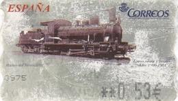 Espagne - Vignette Corréos 0,53€ - Musée Ferroviaire - 1931-Hoy: 2ª República - ... Juan Carlos I
