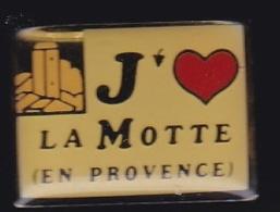 65312-Pin's.la Motte En Provence.Var. - Villes