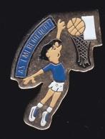 65330-Pin's.Basketball.Remicourt .Vosges En Région Grand Est - Baloncesto