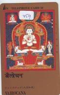 Telecarte Buddha Bouddha Boedha Phonecard (459) - Telefoonkaarten
