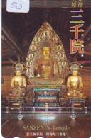 Telecarte Buddha Bouddha Boedha Phonecard (563) - Telefoonkaarten
