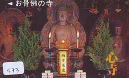Telecarte Buddha Bouddha Boedha Phonecard (573) - Telefoonkaarten