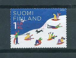 2013 Finland Sledging Used/gebruikt/oblitere - Gebraucht