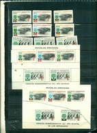DOMINICAINE ANNEE DU REFUGIE 10 VAL + 2 BF NEUFS A PARTIR DE 2 EUROS - República Dominicana