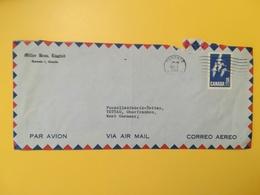 1964 BUSTA INTESTATA AIR MAIL CANADA  BOLLO OCHE ANNULLO OBLITERE' TORONTO - Lettres & Documents