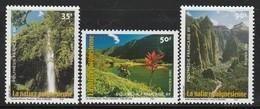 POLYNESIE - N° 634/6  ** (2001) Nature - Französisch-Polynesien