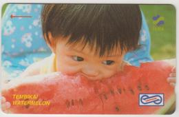 MALAYSIA (Uniphonekad)- Watermelon , CN:26MSAB, 1992, Used - Malaysia