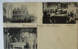 Frankreich Soldatenheim Avesnes, KB Kriegslazerett Feldpost (68683) - Guerre 1914-18