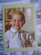 PHQ Queen's 90th Birthday, 90e Anniversaire De La Reine, Prince George De Cambridge - Timbres (représentations)